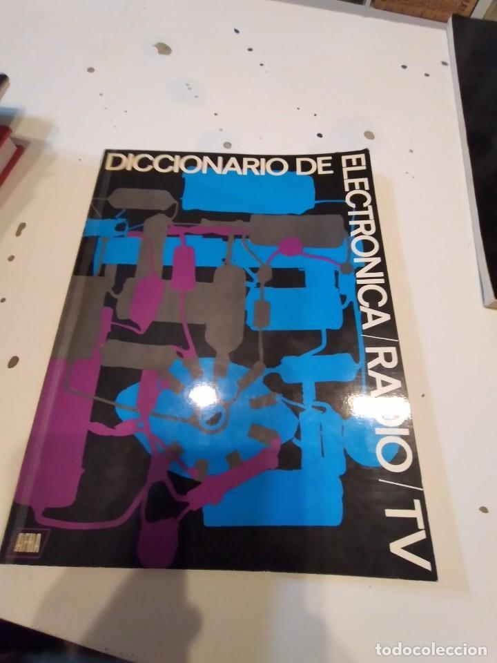 G-68 LIBRO DICCIONARIO DE ELECTRONICA RADIO TV AFHA (Radios, Gramófonos, Grabadoras y Otros - Catálogos, Publicidad y Libros de Radio)
