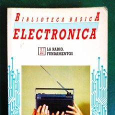 Radios antiguas: LA RADIO. FUNDAMENTOS. Lote 242188100