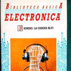 Radios antiguas: SONIDO. LA CADENA HI-FI. Lote 242188415