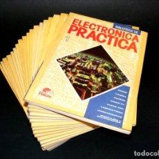 Radios antiguas: BIBLIOTECA DE ELECTRÓNICA PRÁCTICA (1987) - 18 TOMOS - DEL Nº1 AL Nº16 + NUMEROS 18 Y 23.. Lote 243022530