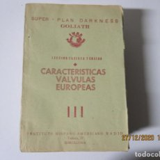 Radios antiguas: LECCION 34 CURSO POR CORRESPONDENCIA DE REPARACIONES DE RADIO IHAR.HISPANO AMERICANO DE RADIO. Lote 244619680