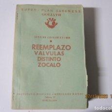Radios antiguas: LECCION 43 CURSO POR CORRESPONDENCIA DE REPARACIONES DE RADIO IHAR.HISPANO AMERICANO DE RADIO. Lote 244620300