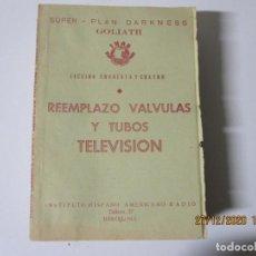 Radios antiguas: LECCION 44 CURSO POR CORRESPONDENCIA DE REPARACIONES DE RADIO IHAR.HISPANO AMERICANO DE RADIO. Lote 244620365