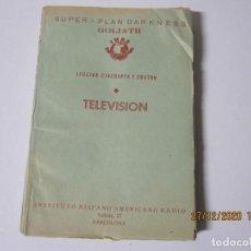 Radios antiguas: LECCION 54 CURSO POR CORRESPONDENCIA DE REPARACIONES DE RADIO IHAR.HISPANO AMERICANO DE RADIO. Lote 244623935