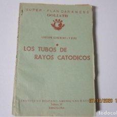 Radios antiguas: LECCION 56 CURSO POR CORRESPONDENCIA DE REPARACIONES DE RADIO IHAR.HISPANO AMERICANO DE RADIO. Lote 244623970