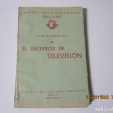 Radios antiguas: LECCION 57 CURSO POR CORRESPONDENCIA DE REPARACIONES DE RADIO IHAR.HISPANO AMERICANO DE RADIO. Lote 244624000
