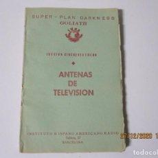 Radios antiguas: LECCION 58 CURSO POR CORRESPONDENCIA DE REPARACIONES DE RADIO IHAR.HISPANO AMERICANO DE RADIO. Lote 244624045