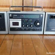 Radios antiguas: RADIO CASSETE AIMOR ST-8000FS2 STEREO RADIO RECORDER PORTATIL. Lote 245104715