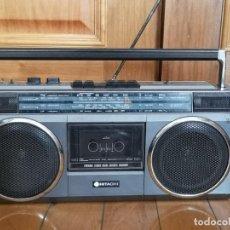 Radios antiguas: RADIO CASSETE HITACHI TRK-6830E. Lote 245104920
