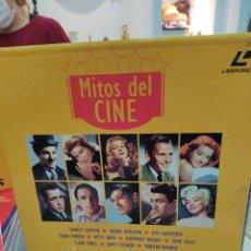 Radios antiguas: MITOS DEL CINE, ANTOLOGÍA DEL CINE CLASICO. Lote 245170820