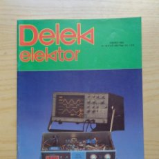 Radios antiguas: REVISTA DELEK ELEKTOR Nº 16. Lote 245486735