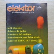 Radios antiguas: REVISTA ELEKTOR Nº 35. Lote 245487300