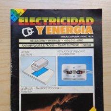 Radios antiguas: REVISTA ELECTRICIDAD Y ENERGIA Nº 1. Lote 245491050
