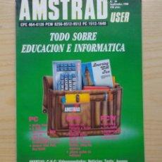 Radios antiguas: REVISTA AMSTRAD Nº 36. Lote 245499075