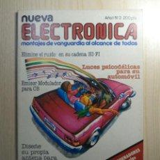 Radios antiguas: REVISTA NUEVA ELECTRONICA Nº 3. Lote 245509060
