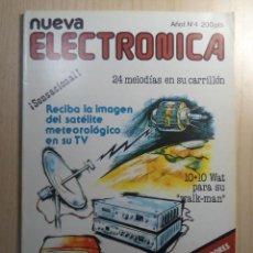 Radios antiguas: REVISTA NUEVA ELECTRONICA Nº 4. Lote 245509065