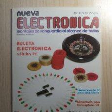 Radios antiguas: REVISTA NUEVA ELECTRONICA Nº 10. Lote 245509070