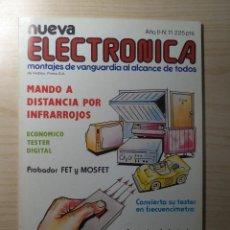 Radios antiguas: REVISTA NUEVA ELECTRONICA Nº 11. Lote 245509075