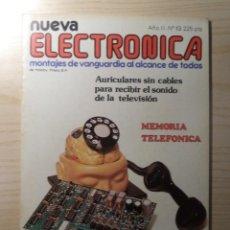 Radios antiguas: REVISTA NUEVA ELECTRONICA Nº 13. Lote 245509090