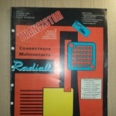 Radios antiguas: REVISTA TRANSISTOR Nº 43. Lote 245509510