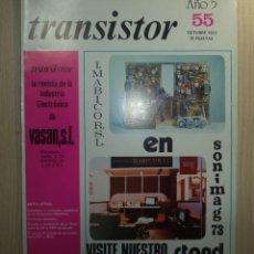 Radios antiguas: REVISTA TRANSISTOR Nº 55. Lote 245509540