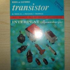 Radios antiguas: REVISTA TRANSISTOR Nº 78. Lote 245509630