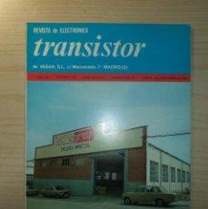 Radios antiguas: REVISTA TRANSISTOR Nº 79. Lote 245509645