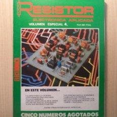 Radios Anciennes: REVISTA RESISTOR VOLUMEN ESPECIAL Nº 4. Lote 246032250