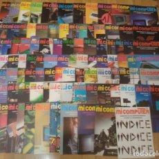 Radios antiguas: LOTE 99 REVISTAS 'MI COMPUTER' ENTRE LOS AÑOS 1984 Y 1986. Lote 246128445