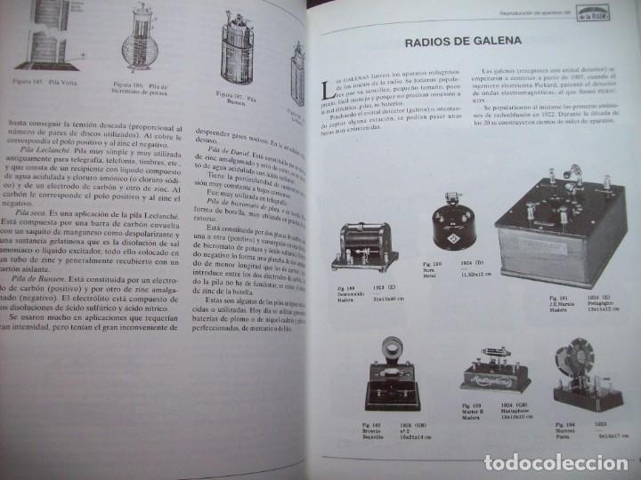 Radios antiguas: RADIO, HISTORIA Y TECNICA. JUAN JULIA ENRICH. MARCONBO. 1993 - Foto 4 - 246963405
