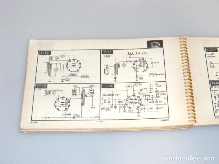 Radios antiguas: TELE TUBES (1958) - R. DE SCHEPPER - CARACTERÍSTICAS DE T.R.C. Y VÁLVULAS PARA RADIO Y TV. - Foto 3 - 251160340