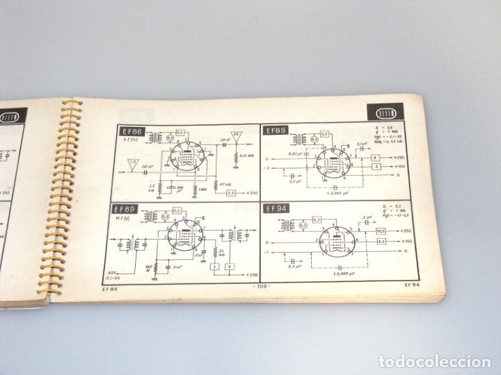 Radios antiguas: TELE TUBES (1958) - R. DE SCHEPPER - CARACTERÍSTICAS DE T.R.C. Y VÁLVULAS PARA RADIO Y TV. - Foto 4 - 251160340