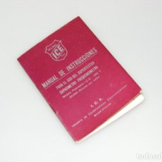 Radios antiguas: MANUAL DE INSTRUCCIONES DEL SUPERTESTER I.C.E. 680C - BUEN ESTADO.. Lote 251198250