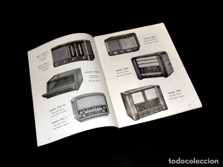 Radios antiguas: RADIO PUJALS - CATÁLOGO DE MUEBLES PARA RECEPTORES DE RADIO (1952) - BUEN ESTADO - VER FOTOS. - Foto 2 - 251198960