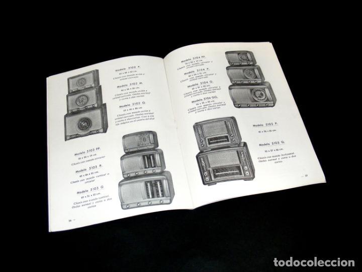 Radios antiguas: RADIO PUJALS - CATÁLOGO DE MUEBLES PARA RECEPTORES DE RADIO (1952) - BUEN ESTADO - VER FOTOS. - Foto 3 - 251198960