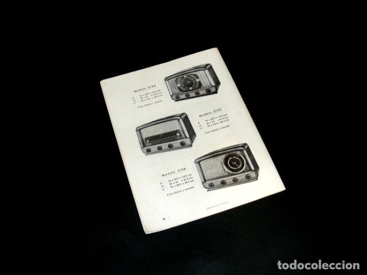 Radios antiguas: RADIO PUJALS - CATÁLOGO DE MUEBLES PARA RECEPTORES DE RADIO (1952) - BUEN ESTADO - VER FOTOS. - Foto 4 - 251198960