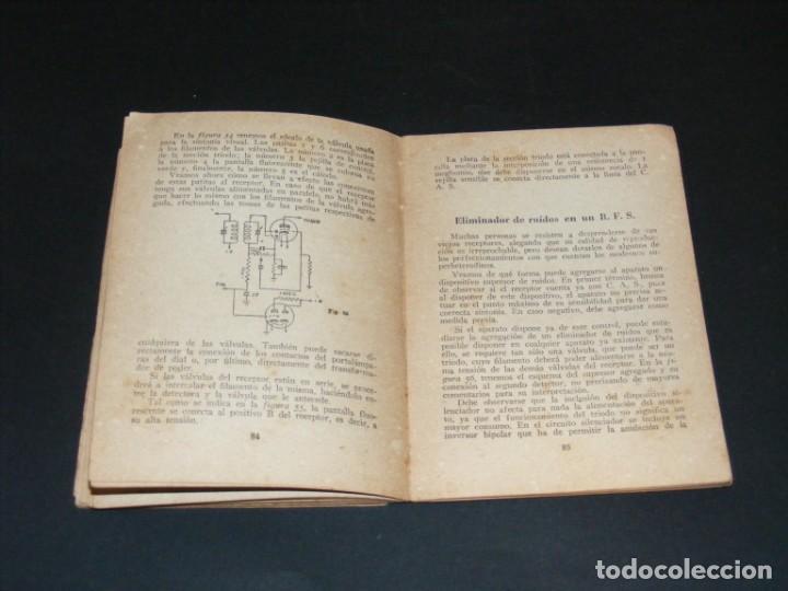 Radios antiguas: MODERNIZACIÓN Y CONVERSIÓN DE RECEPTORES -1ª EDICIÓN 1948-R. J. DARKNESS-VER DESCRIPCIÓN. - Foto 2 - 251769895