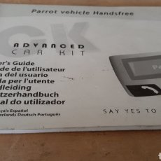 Radios antiguas: GUIA USARIO CATÁLOGOS ADVANCED CAR KIT PORROT BLUETOOTH. Lote 253307410
