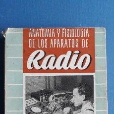 Radio antiche: ANATOMIA Y FISIOLOGIA DE LOS APARATOS DE RADIO - 3 - CALIBRACION AJUSTE Y REPARACION. Lote 253339660