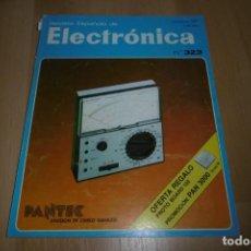Radios antiguas: REVISTA ESPAÑOLA DE ELECTRONICA Nº 323 OCTUBRE 1981. Lote 254212595