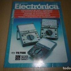 Radios antiguas: REVISTA ESPAÑOLA DE ELECTRONICA Nº 378 MAYO 1986. Lote 254213690