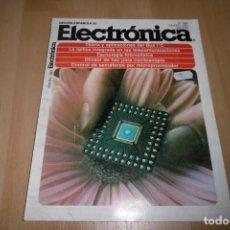 Radios antiguas: REVISTA ESPAÑOLA DE ELECTRONICA Nº 386 ENERO 1987. Lote 254213975