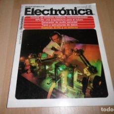 Radios antiguas: REVISTA ESPAÑOLA DE ELECTRONICA Nº 394 SEPTIEMBRE 1987. Lote 254214955