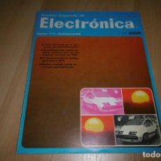 Radios antiguas: REVISTA ESPAÑOLA DE ELECTRONICA Nº 255 FEBRERO 1976. Lote 254219660