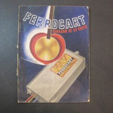 Radios antiguas: FERROCART-CATALOGO PUBLICIDAD DE RADIOS-AÑO 1943 44-VER FOTOS-(K-2204). Lote 254429395