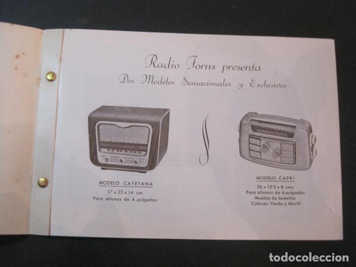 Radios antiguas: RADIO FORNS-CATALOGO PUBLICIDAD DE RADIOS-VER FOTOS-(K-2207) - Foto 4 - 254432760