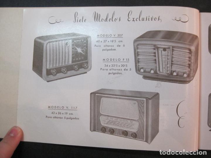 Radios antiguas: RADIO FORNS-CATALOGO PUBLICIDAD DE RADIOS-VER FOTOS-(K-2207) - Foto 5 - 254432760