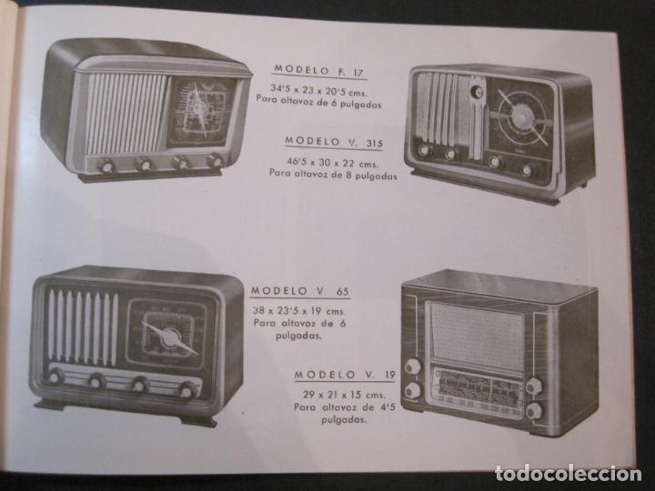 Radios antiguas: RADIO FORNS-CATALOGO PUBLICIDAD DE RADIOS-VER FOTOS-(K-2207) - Foto 6 - 254432760