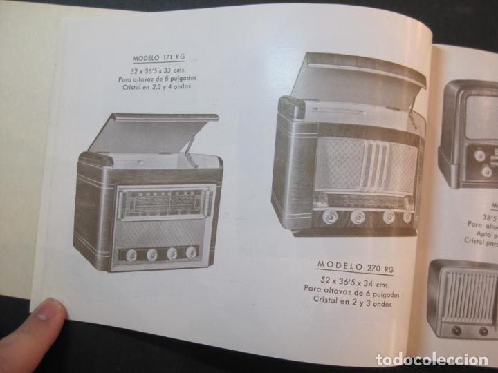 Radios antiguas: RADIO FORNS-CATALOGO PUBLICIDAD DE RADIOS-VER FOTOS-(K-2207) - Foto 7 - 254432760