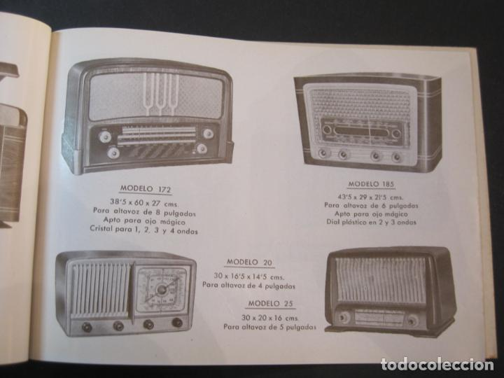 Radios antiguas: RADIO FORNS-CATALOGO PUBLICIDAD DE RADIOS-VER FOTOS-(K-2207) - Foto 8 - 254432760